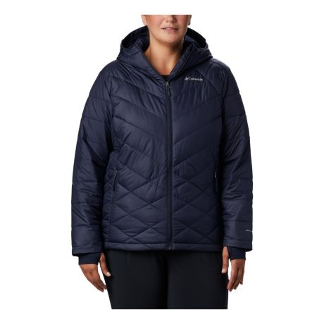 Columbia™ Women's Heavenly™ Hooded Jacket - Dark Nockturnal