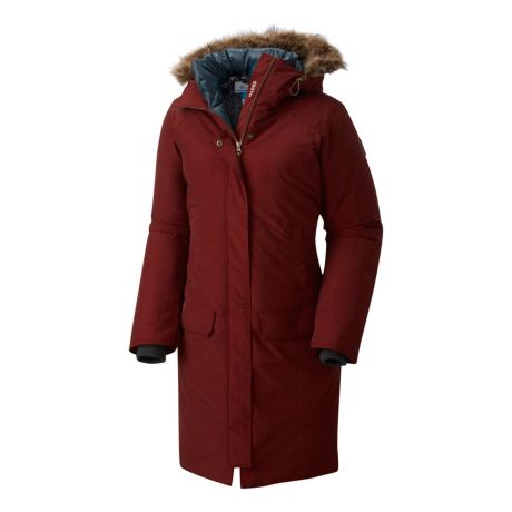 Columbia™ Women's Alpine Escape 550 TurboDown™ Jacket - Dark Rust