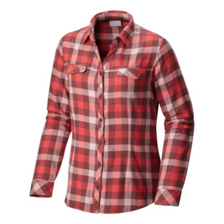 Columbia women s simply put ii flannel shirt cabela 39 s for Cabela s columbia shirts