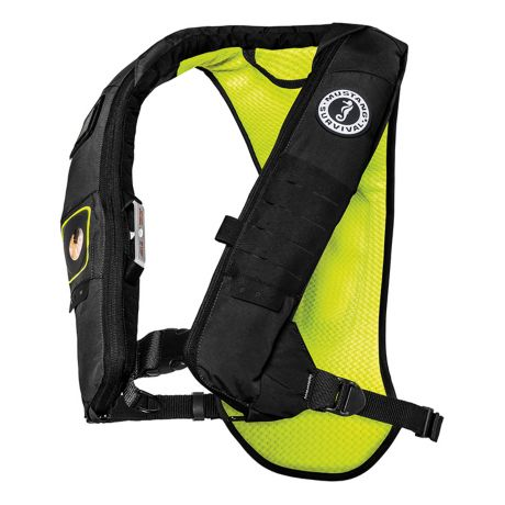 Mustang Survival H.I.T.™ 28K Inflatable PFD - Flourescent Yellow-Green/Black