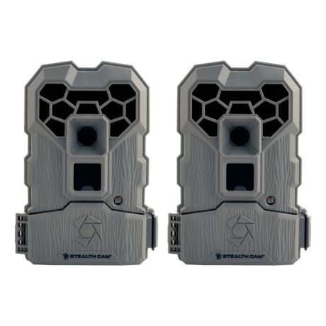 Stealth Cam QS12 10MP Trail Camera – Two-Pack
