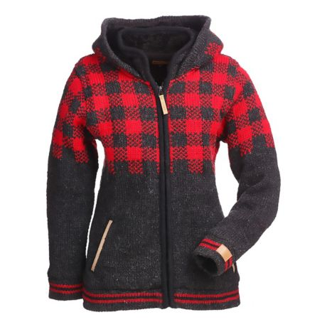 Kyber® Women s Buffalo Check Sweater. Use + and - keys to zoom in and out 0f669d6b9338