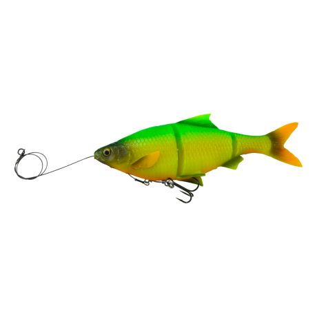 Savage Gear Pre-Rigged 3D Line-Thru Shad - Firetiger
