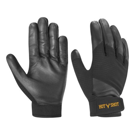 Hot Shot® Men's Mesh-Back Leather Shooting Gloves