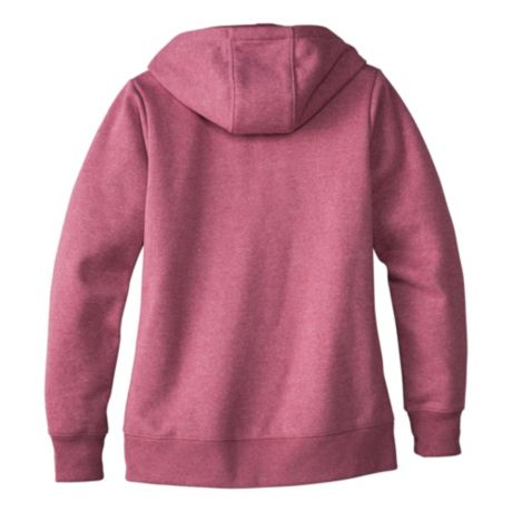 Cabela's Women's Game Day Full-Zip Hoodie - Berry Mauve Heather - back