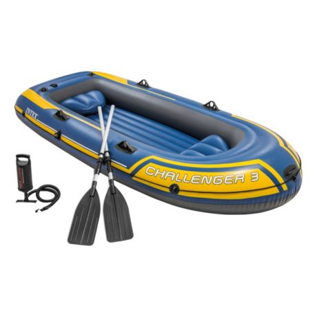 Intex® Challenger 3 Inflatable Boat Set | Cabela's Canada
