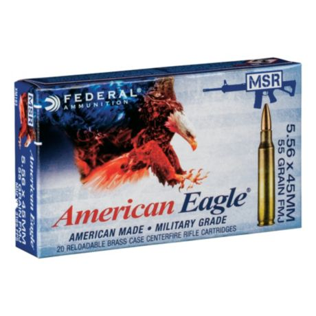Federal® American Eagle® Tactical® Rifle Ammunition - 5.56mm NATO