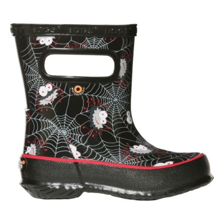 Bogs® Toddlers' Skipper Rain Boots - Spiders Black
