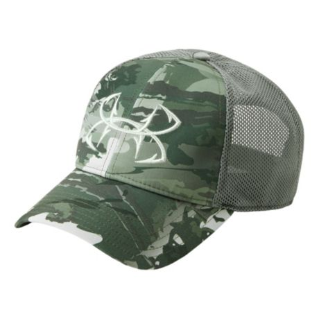 f1121c3351c Under Armour® Men s Camo Fish Hook 2.0 Cap - Camo Olive. Use + and - keys  to zoom in and out