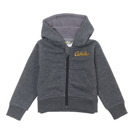 Cabela's Infant/Toddler Full Zip Hoodie - Charcoal Heather