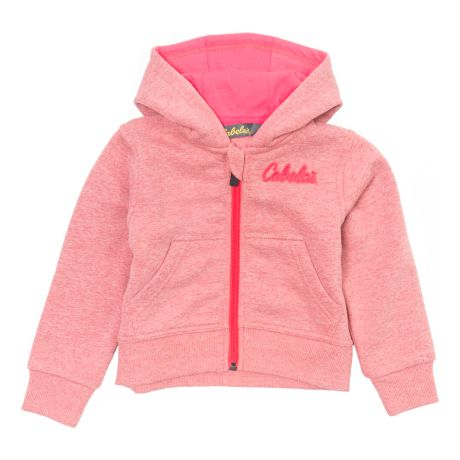 Cabela's Infant/Toddler Full Zip Hoodie - Red Heather