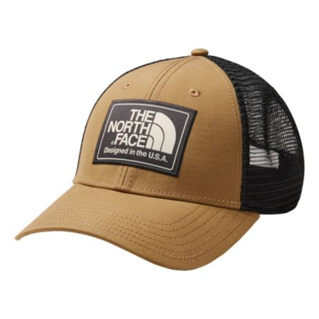 b13c82640d2620 The North Face® Men's Mudder Trucker Hat - Khaki/Weathered Black. Use + and  - keys to zoom in and out, arrow keys move the zoomed portion of the image