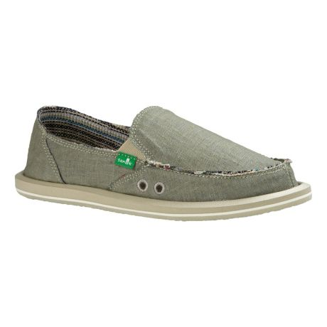 Sanuk® Women's Donna Hemp Shoe - Olive Grey