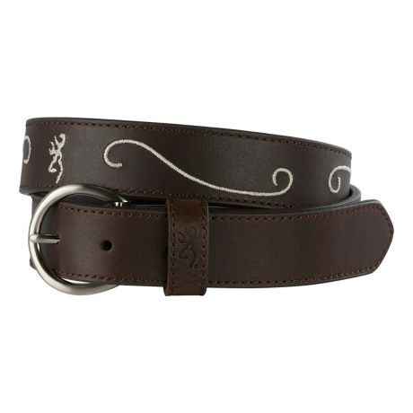 Browning® Women's Floral Buckmark Belt