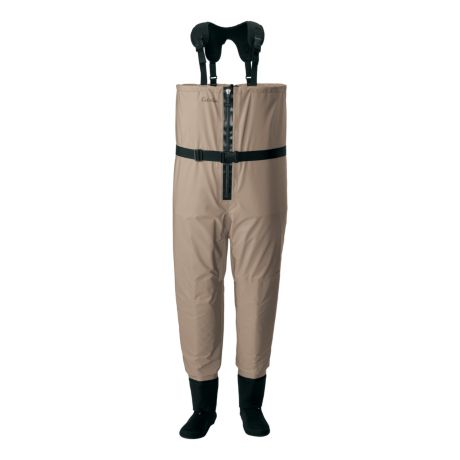 Cabela's Men's Premium Zip Breathable Stockingfoot Fishing Waders with 4MOST DRY-PLUS™