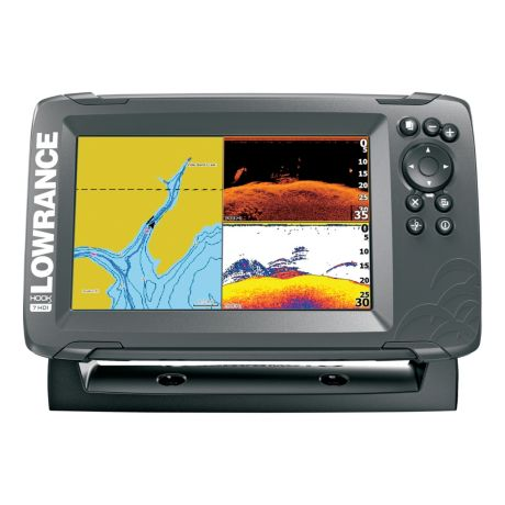 Lowrance® Hook2 - 7 with SplitShot Transducer and US / Canada Nav+ Maps