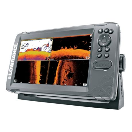 Lowrance® Hook2 - 9 with TripleShot Transducer and US Inland Maps - Side View 2