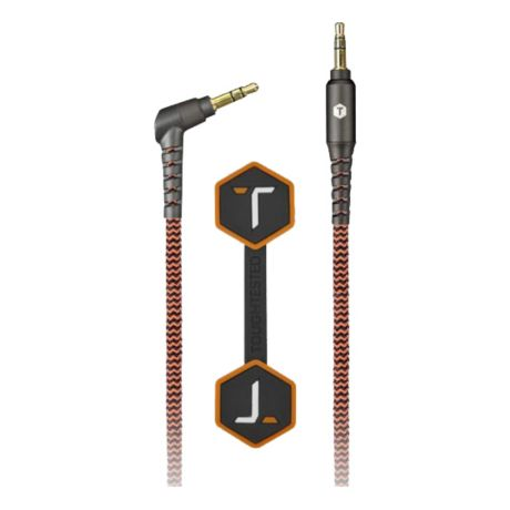Tough Tested® Durable Braided Fabric 3.5mm Auxiliary Cable