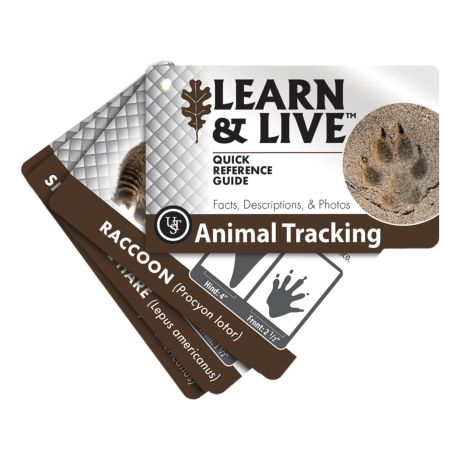 Ultimate Survival Technologies Learn & Live™ Cards - Animal Tracking