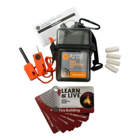 Ultimate Survival Technologies Learn and Live Kit - Fire Starting