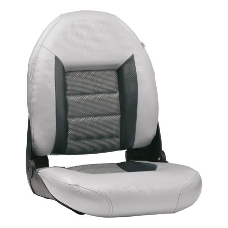 Tempress Authentic Boat Seat - Silver/Carbon/Grey