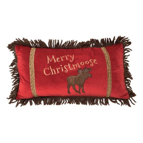 Carstens Merry Christmoose Pillow