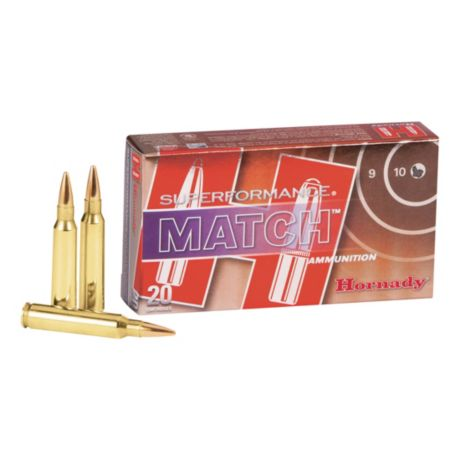 Hornady Superformance Match Rifle Ammunition