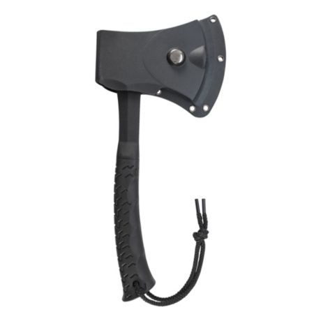 Schrade Hatchet & Mini Machete Combo - Hatchet Sheath View