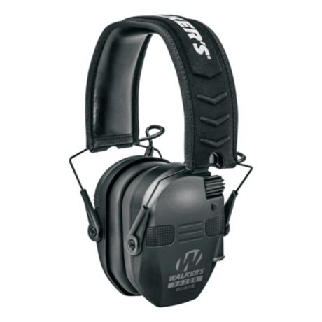 Walker's® Razor Quad Electronic Muffs - Black