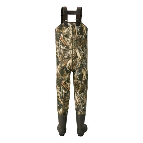 Cabela's Men's 5mm Armor-Flex™ Chest Waders with Lug Soles – Tall - back