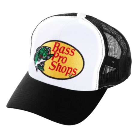 525b219eeb5 Bass Pro Shops® Embroidered Logo Mesh Caps - Black. Use + and - keys to  zoom in and out