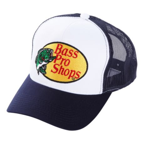 Bass Pro Shops® Embroidered Logo Mesh Caps - Navy
