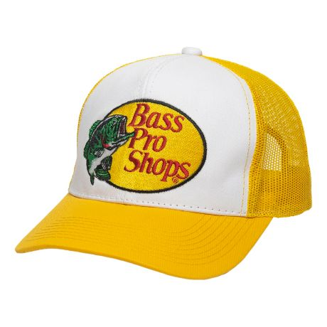 Bass Pro Shops® Embroidered Logo Mesh Caps - Gold