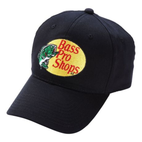 Bass Pro Shops® Twill Cap - Black