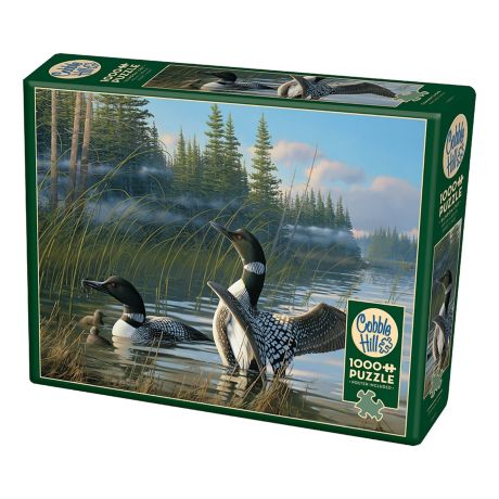 Cobble Hill Common Loons Puzzle - 1000 pieces