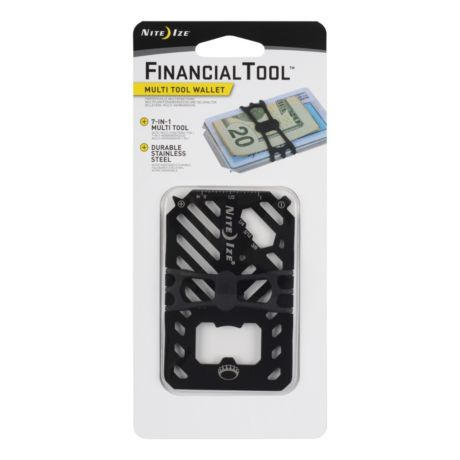 Nite Ize® Financial Tool® Multi Tool Wallet