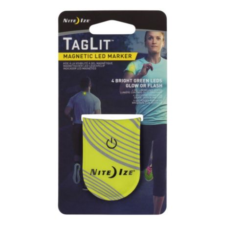 Nite Ize® TagLit™ Magnetic LED Marker - Neon Yellow