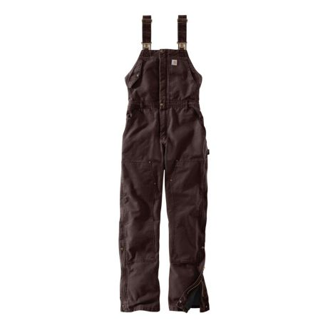 later new product largest selection of 2019 Carhartt® Women's Weathered Duck Wildwood Bib Overalls | Cabela's Canada