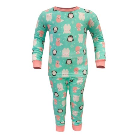 Watson's® Infant/Toddler Girls' Thermal Set - Winter Friends