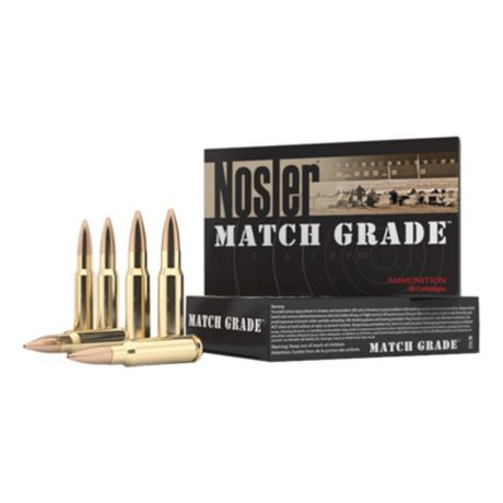 Nosler Match Grade Custom Competition Ammunition