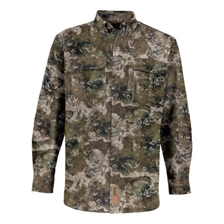 RedHead® Men's Silent-Hide® Button-Down Shirt - Strata