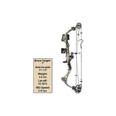 Diamond Archery The Rock Bow Kit by Bowtech
