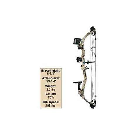 Diamond Archery The Edge Bow Kit by Bowtech