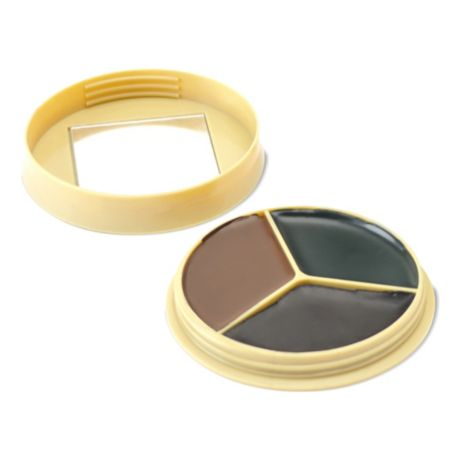 HME™ 3 Colour Camo Face Paint Compact