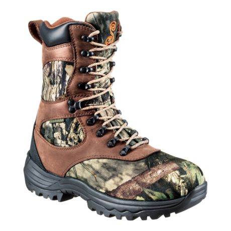 SHE® Outdoor Women's Expedition Ultra BONE-DRY® Insulated Waterproof Hunting Boots - Mossy Oak® Break-Up Country™