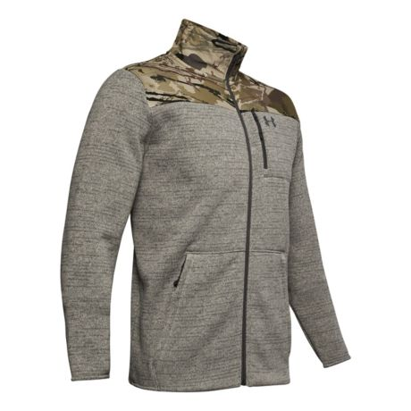 Under Armour® Men's Specialist 2.0 Full-Zip Jacket - Charcoal Heather/UA Barren Camo