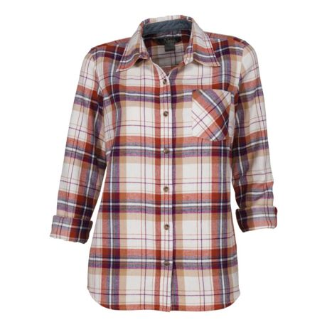 b7ab29f091d Natural Reflections® Women s Flannel Shirt