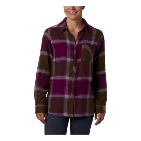 Columbia™ Women's Simply Put™ II Flannel Shirt - Iris
