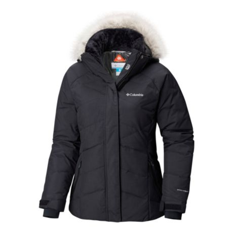 e872a31ec2285 Columbia® Women s Lay D Down™ II Jacket - Plus Size - Black Metallic. Use +  and - keys to zoom in and out