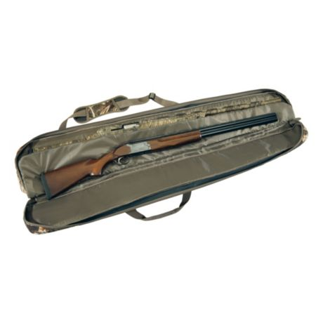 Cabela's Northern Flight Deluxe Double Floating Gun Case - TrueTimber DRT - Inside View